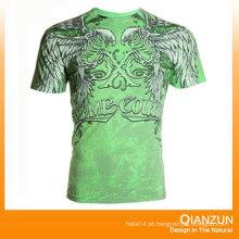 T-shirts de algodão de impressão de transferência de calor para venda
