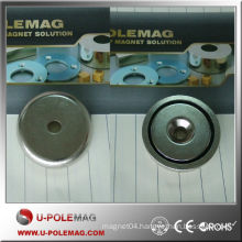 High quality D25-8 neodymium magnetic countersunk