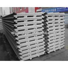 Línea de producción del panel de emparedado del EPS de la alta calidad