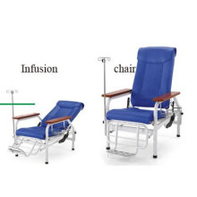 Adjustable Infusion Chair, Treatment Chair, Medical Examination Chair With Oddment Basket