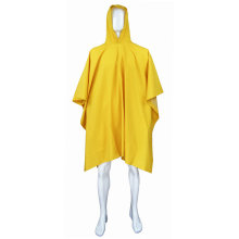 PVC Poncho Raincoat with Hood
