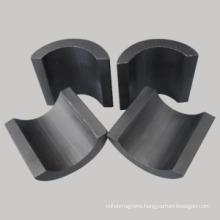 Y30 Industrail Hard Ferrite Large Arc Magnet (UNI-Ferrite-oi11)
