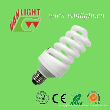 High Power Efficiency T3 Full Spiral CFL 25W Energey Saver