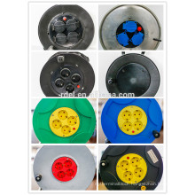 European cable reel with overheat protection and waterproof protection
