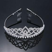Hot Sell Crystal Wedding Hair Jewelry Tiara