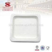 Vaisselle en céramique blanc buffet de plateau de Guangzhou