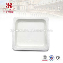 Ceramic white buffet dishes tray equipment from Guangzhou