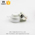 frascos de vidro brancos cosméticos do creme do olho do luxo 20ml for sale
