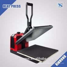 Fabrik-Preis-Handbuch 40 * 50cm T-Shirt heißes Hitzepressemaschine-T-Shirt für Verkauf in qatar