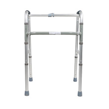 Adjustable foldable zimmer frame aluminum walker
