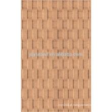 Painel de parede de painéis duros tijolo / painéis duros e0 / painéis de painéis decorativos