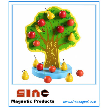 Magnetic Wooden Fruit Tree Toy/Educational Toy