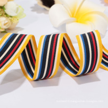 Customized polyester ribbon,wowen ribbon for backpack ribbon