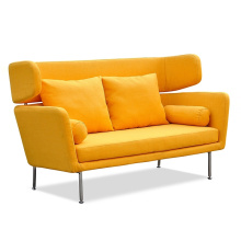 Latest Europe Style Fabric Sofa with Metal Leg