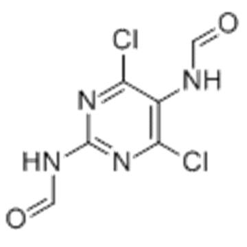 Formamide,N-[4,6-dichloro-2-(formylamino)-5-pyrimidinyl]- CAS 116477-30-6