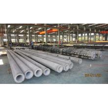 Moule en acier de chaîne de production de poteaux en béton