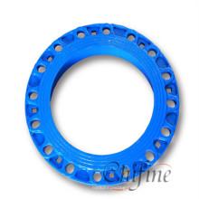 Дуктильная отливка утюга фланца для механической части