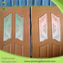 Größe 3'x7 'Polyester Papier Tür Haut Sperrholz mit Pappelkern