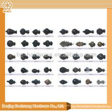 Finitions de rideaux modernes à bon marché à haute qualité 19mm à vendre