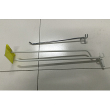 Supermercado colgante Display Rack Metal Shelf Hook en venta