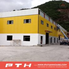 2015 Prefab maßgeschneiderte professionelle gestaltete große Spannweite Stahlkonstruktion Gebäude