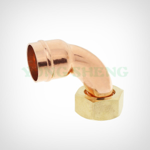 Copper Fitting Bent Tap Connector