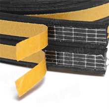 EPDM Adhesive Backed Foam Rubber Strips
