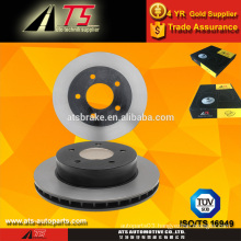 high performance brake disc for GeneralMotors 55015 15622781 15679711manufacturer disc brake ventilated brake rotor