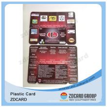 Plastikdruck Die Schnittkarten / PVC Combo Karten