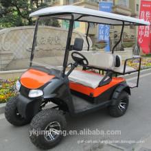 Carro de golf de 250cc con 4 plazas (2 + 2)