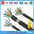 cable de control aislado PVC flexible del conductor de cobre