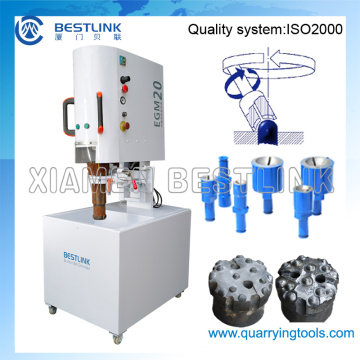 Electrical Semi-Automatic Button Bit Grinding Machine