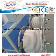 Plastique PVC PA Extrusion de tuyaux ondulés