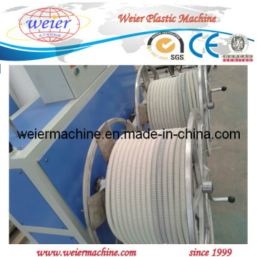 Plastic PVC PA Corrugated Hose Extrusion Machinery