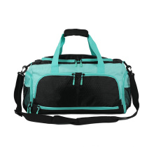 Custom Women Men Athletic Tote Travel Luggage Backpack Hand Gym Sports Duffel Bag with Waterproof Pouch Duffel Bag