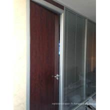 HDF Room Door, Porte moulée en HDF, Porte en bois dur