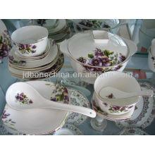 Кофе чай чай горшок сахар сливки королевская кость фарфор посуда набор посуды