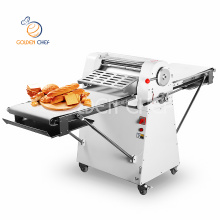 520 mm conveyor belt rolling machine bakery electric commercial croissant pizza pastry sheeter price dough sheeter