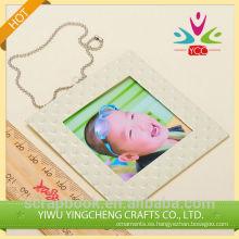 2016 hilado decoración alibaba co Reino Unido chinas proveedor recién nacido marcos de fotos para la decoración