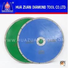 Discos de corte de cerámica sinterizada de 350 mm y hoja de sierra de cerámica con forma de ranura en forma de J de anzuelo verde de 300 mm