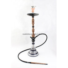 China New Shisha Narghile Smoking Pipe Wood Hookah
