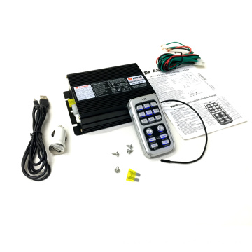Police Electric Horn 100W 200W 400W Remote Control Wireless Siren 300W