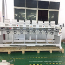 The Best Industrial 8 Head /Eight Head Computerized Embroidery Machine factory price