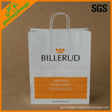 reusable promotional kraft paper packing bag