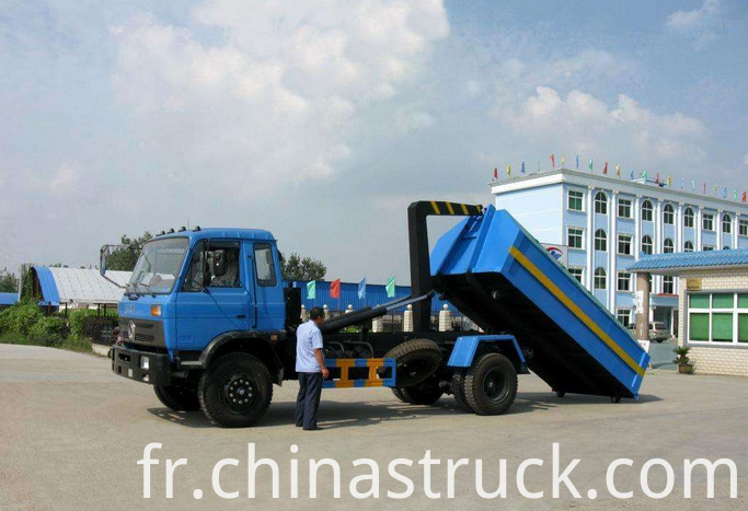 5Ton detachable garbage truck