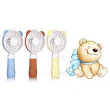 USB Rechargeable Mini Portable Handheld Cute Bear Fan