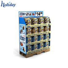 ODM & OEM Supermarket Shopping Mall Display Stand,Factory Supplier Custom Cardboard Pallet Display