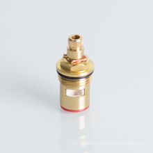 Different sizes brass angle valve core with brass material