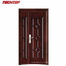 Puertas de entrada de acero de alta calidad TPS-121sm Residenciales con pintura a prueba de UV