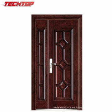 Puertas exteriores de acero sólido de la venta caliente de la fábrica de TPS-121sm disponibles
